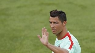 Cristiano Ronaldo will make a record equalling 127th cap for Portugal on Tuesday night.