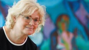 La ministre allemande de la Justice Christine Lambrecht a annoncé de nouvelles mesures pour lutter contre le terrorisme d'extrême droite.