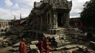 Both Thailand and Cambodia claim area around the temple