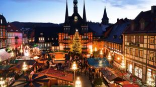 Mercado de Natal em Ludwigshafen