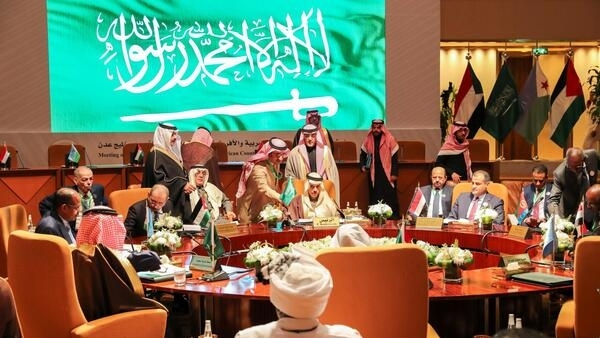 Foreign ministers of eight Arab and African countries attend a meeting to sign the Charter of the Council of Arab and Afraican Coastal States of the Red Sea and Gulf of Aden in Riyadh, Saudi Arabia, January 6, 2020.