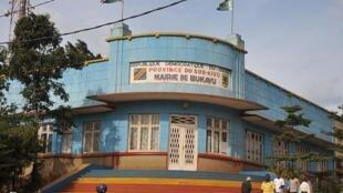Ofisi ya meya wa Bukavu, mji mkuu wa jimbo la Kivu kusini, RDC.