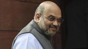 O ministro do Interior da Índia, Amit Shah.