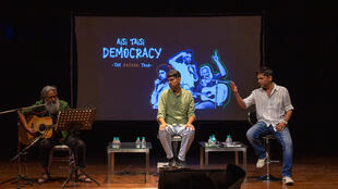 All good, clean fun: Indian stand-up stands up to political power.