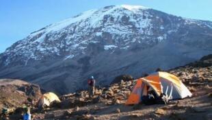 Sehemu ya mlima Kilimanjaro nchini Tanzania