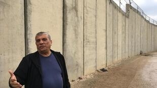 Jamal Majadleh, analista politico árabe-israelense, morador de Baqa al-Gharbiyye, na fronteira com a Cisjordânia