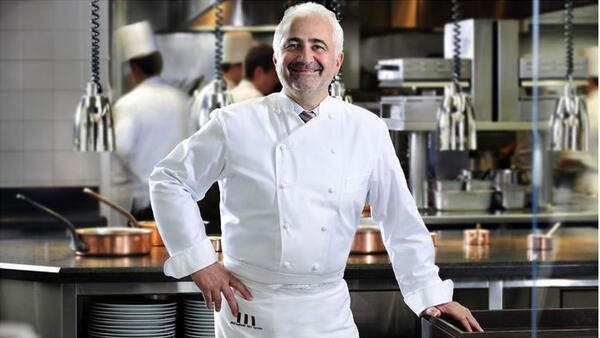 O chef francês Guy Savoy.