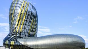 A Cidade do Vinho, em Bordeaux.