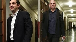O primeiro-ministro da Grécia, Alexis Tsipras, e o ministro das Finanças, Yanis Varoufakis, são esperados nesta terça-feira em Roma.