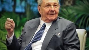 O presidente cubano, Raúl Castro