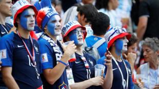 Французских болельщиков на стадионе было меньше, чем аргентинцев