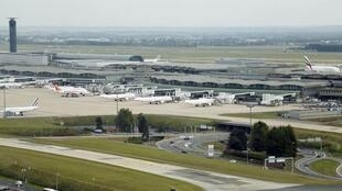Terminal 2 at Charles de Gaulle International Airport in Roissy
