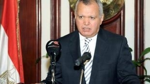 Foreign minister Mohammed al-Orabi announces his resignation