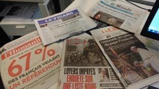 Diários franceses  13 02 2020