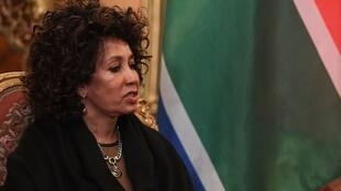 Lindiwe Sisulu, South African Minister of International Relations and Cooperation