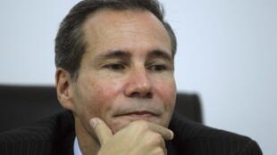 El fiscal Alberto Nisman. Archivo.