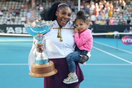 Serena Williams won last week's Auckland Classic, her first title since becoming a mother