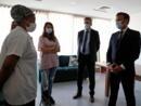 Coronavirus: Emmanuel Macron face au système D de la Seine-Saint-Denis