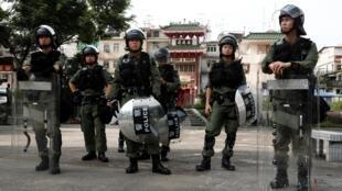 香港警察照片