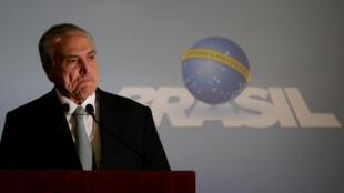 El presidente de Brasil Michel Temer anunció este 18 de mayo en televisión que no renunciará y aseguró que no ha comprado el silencio de nadie.