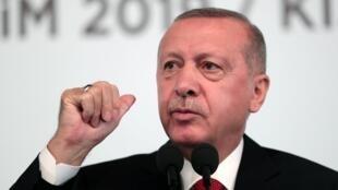 Президент Турции Реджем Тайип Эрдоган