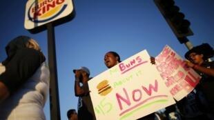 Manifestación este 29 de agosto en Los Angeles, California.