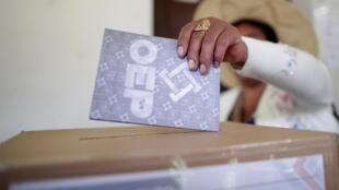Primeiro turno das eleições presidenciais na Bolívia