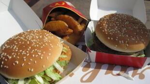 Fast food (image d'illustration).