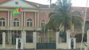 Palácio Presidencial, em São Tomé e Príncipe,