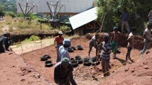 L'équipe franco-éthiopienne réalise des fouilles pour comprendre Lalibela avant les églises excavées.