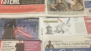 Diários franceses 16/12/2015