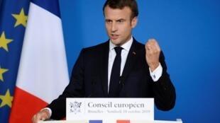 Le président français, Emmanuel Macron.