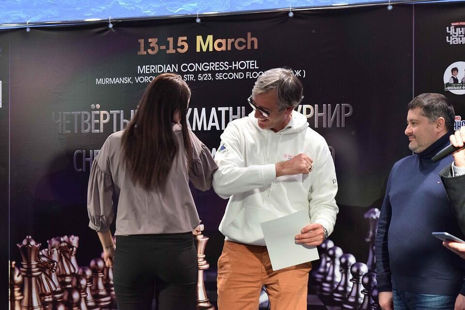 президент ассоциации Chess Mate Юриан Кейн