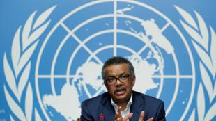 Le directeur général de l'Organisation mondiale de la santé (OMS), Tedros Adhanom Ghebreyesus.