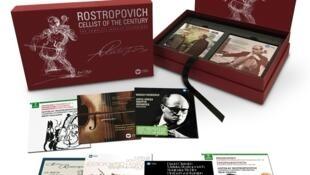 Bộ toàn tập kỷ niệm 10 năm ngày giỗ của Rostropovich