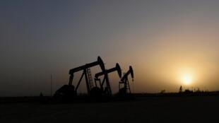 Des puits de pétrole au Texas, aux États-Unis. (Image d'illustration)