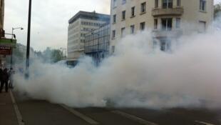 Субботняя акция протеста в Ренне завершилась в спокойной обстановке, несмотря на несколько инцидентов
