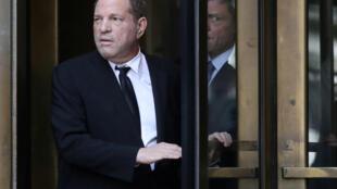 Harvey Weinstein, en agosto de 2019 en Nueva York.