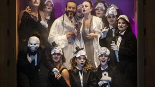 Le spectacle «Électre des Bas-fonds» de Simon Abkarian.
