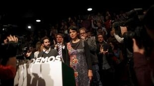 O partido minoritário Podemos tornou-se a terceira força política da Andaluzia.