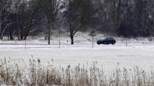 Motoristas tiveram que ser cautelosos nas estradas da Alemanha (foto), onde vários acidentes de trânsito foram registrados devido às intensas quedas de neve.