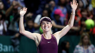 Elina Svitolina will vye for her fourth title of the year when she plays in the WTA finals showdown.