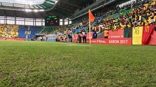 The controversial pitch at CAN 2017