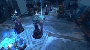 Image tirée du jeu League of Legends, très prisé des joueurs de jeux vidéo professionnels.
