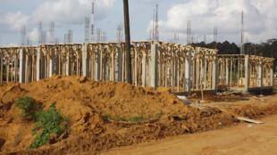 Construction de logements sociaux à Songon (Yopougon).