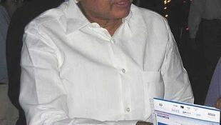 Indian Home Affairs Minister Palaniappan Chidambaram