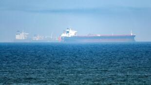 Des pétroliers dans le golfe d'Oman.