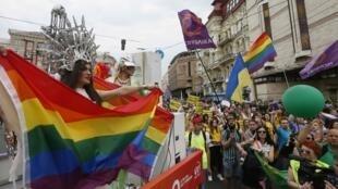 «Марш равенства» за права ЛГБТ в Киеве 17 июня 2018