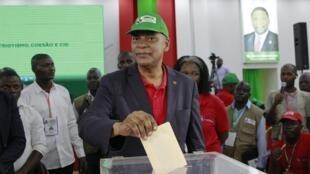 Adalberto Costa Junior, élu nouveau président de l'UNITA lors du congrès du parti d'opposition angolais, le vendredi 15 novembre 2019.