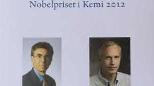 Os cientistas norte-americanos Robert Lefkowitz e Brian Kobilka são os vecedores do Prémio Nobel da Química 2012